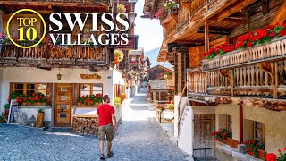 Top 10 Villages of SWITZERLAND - Most beautiful Swiss Towns - Best Places [Full Travel Guide]