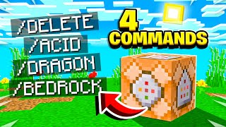 10 ILLEGAL MINECRAFT COMMANDS!