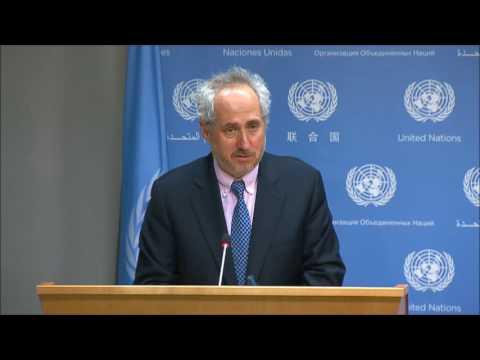 ICP asks UN About P/T(Burundi?) Envoy Kafando, Yemen Expired Meds, W Sahara Censorship, Read-Out