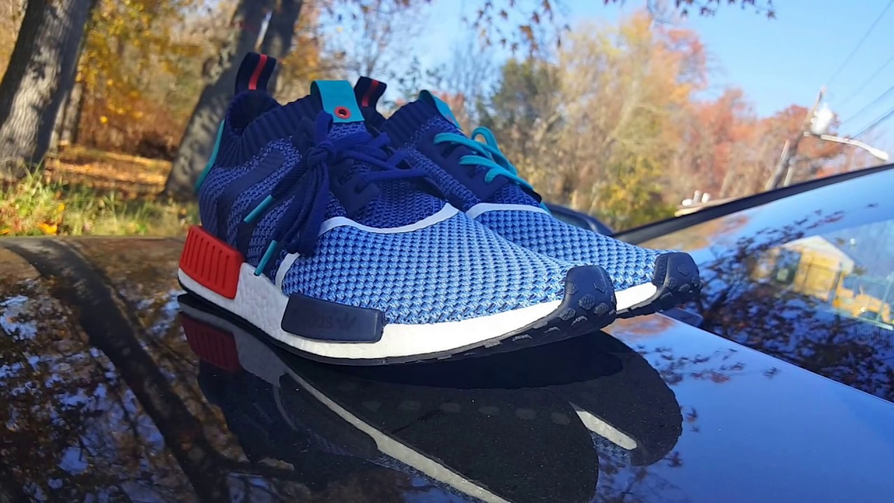 bff6cce39 LIMITED ADIDAS X PACKERSHOES NMD R1 PK ON FEET!! YOU GUYS REQUESTED ...