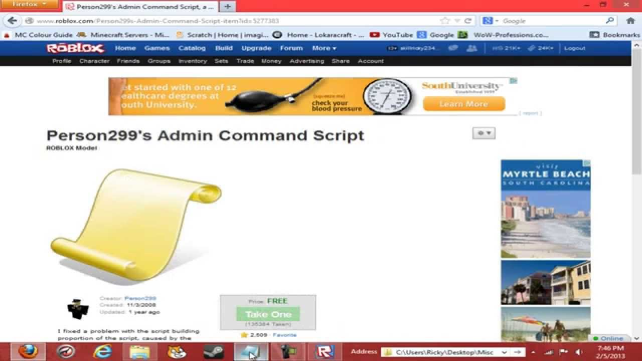 [2020] How To Give Everyone Free Admin In Your Roblox …