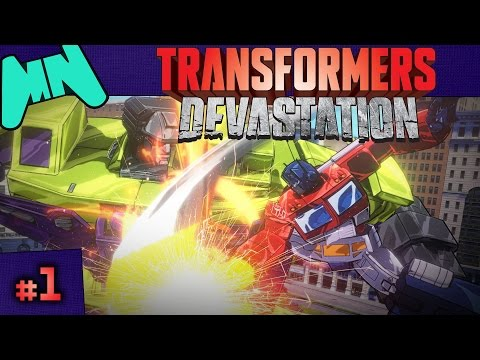 Transformers: Devastation | Ch.1: City of Steel