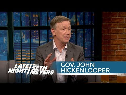 Colorado Gov. John Hickenlooper on Coming Around to Pot Legalization