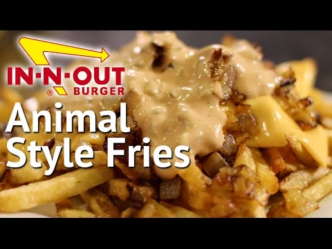 DIY Animal Style Fries - IN-N-OUT