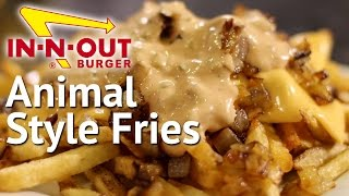 In-N-Out Animal Style Fries Copycat Recipe  |  HellthyJunkFood