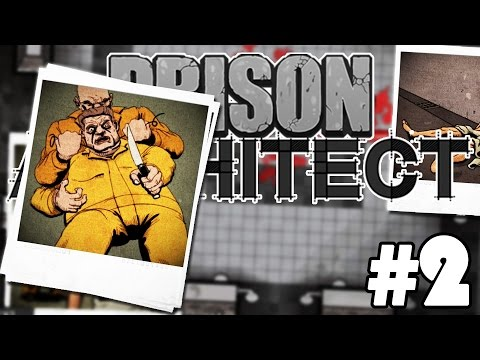 WANTED FOR MURDER | Prison Architect - Part 2