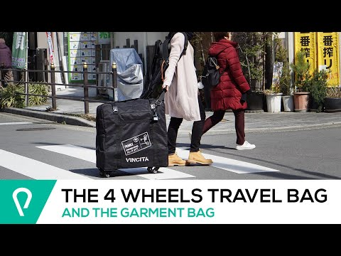 B132H: The smoothest Brompton transport bag