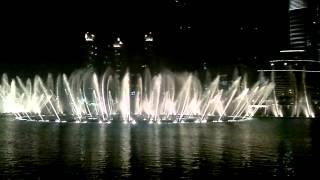 The Dubai Fountain ( Enta Omry - Om Kolthoom )