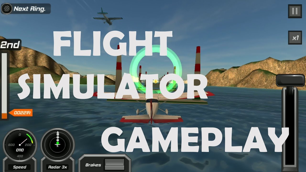 Flight Simulator Android Gameplay (Android Game) - YouTube