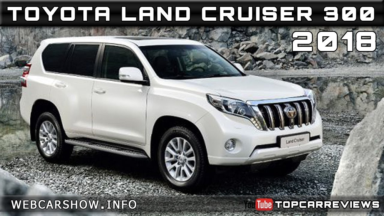 2018 toyota land cruiser 300 review rendered price specs release