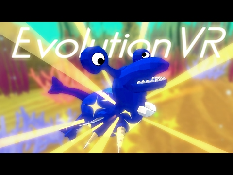 Evolution VR - Lock Ness Monster Shark! - Let's Play Evolution VR Gameplay