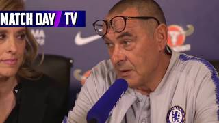 Maurizio Sarri Pre Match Press Conference - Huddersfield Town 0-3 Chelsea