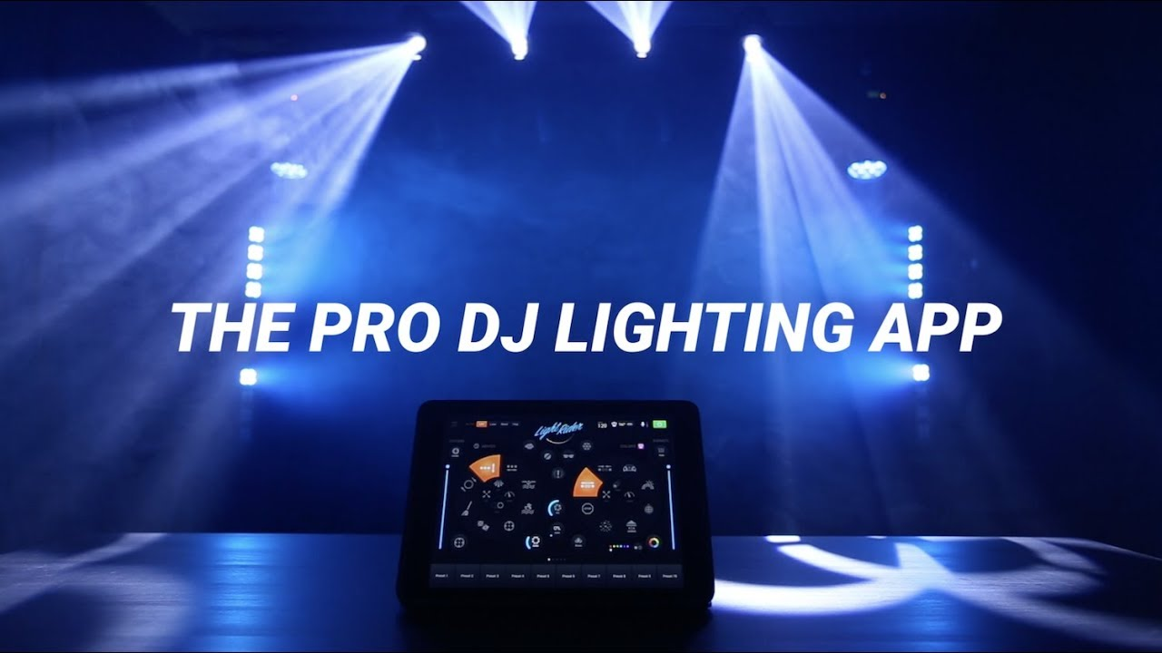 LIGHT RIDER - THE PRO DJ LIGHTING APP - DMX 512, ARTNET