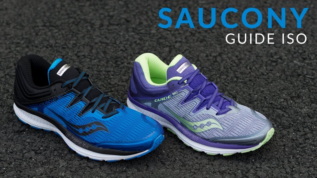 d0efc1d7ce8b Saucony Guide ISO - Running Shoe Overview - YouTube
