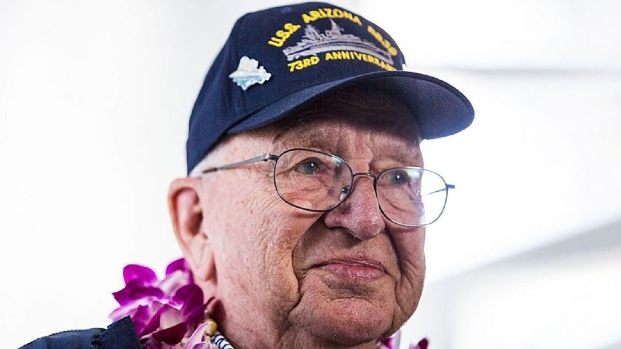 Navy vet's ashes destined for sunken Pearl Harbor battleship