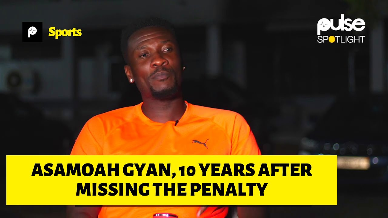 10 Years After Asamoah Gyan talks about his 2010 World Cup Penalty miss.