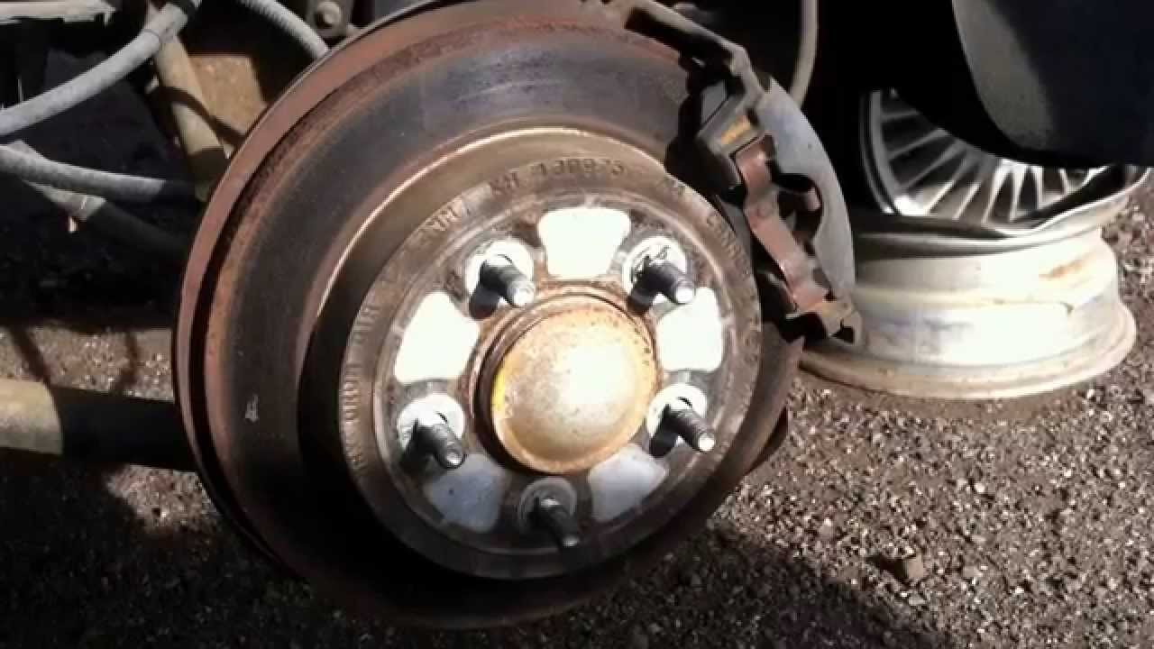 Chrysler 300m Rear Brake Replacement Youtube