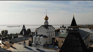Meet October at the Kremlin. 4K. Rostov, Russia. Золотая осень в Ростовском Кремле, Россия.