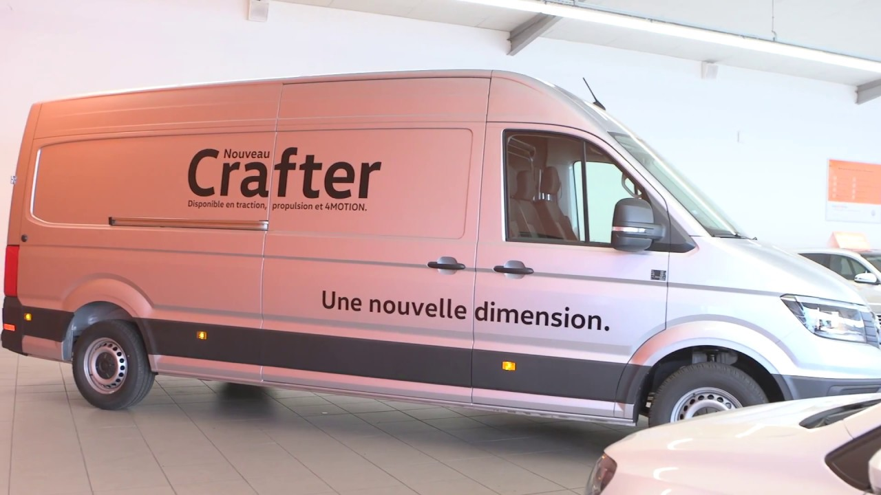 volkswagen crafter van 35 l4h3 2 0 tdi 177 ch business. Black Bedroom Furniture Sets. Home Design Ideas