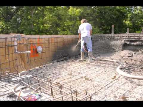 Bledsoe Construction Pool Concrete Pour Youtube