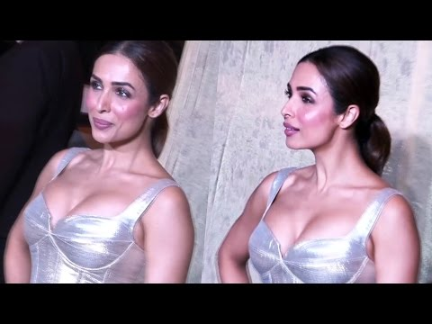 Malaika Arora In BOLD Outfit At Manish Malhotra's 50th Birthday Party