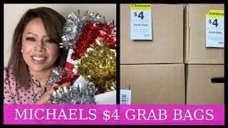 MICHAELS $4 GRAB BAGS 2019/
