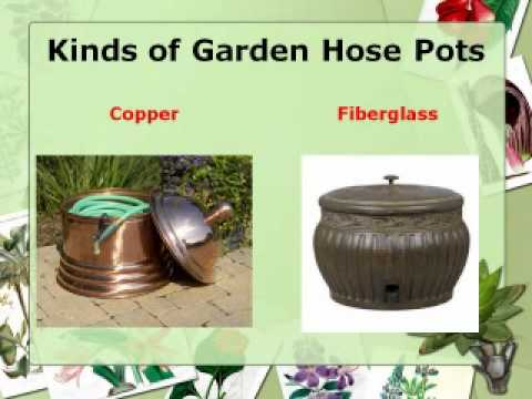 Add a Touch of Class With a Garden Hose Pot YouTube