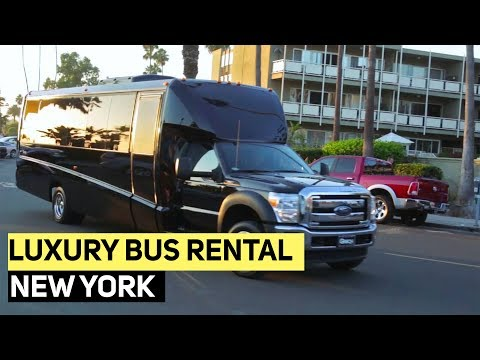 Mini Coach Shuttle Bus - Luxury Bus Rental Services - New York NYC