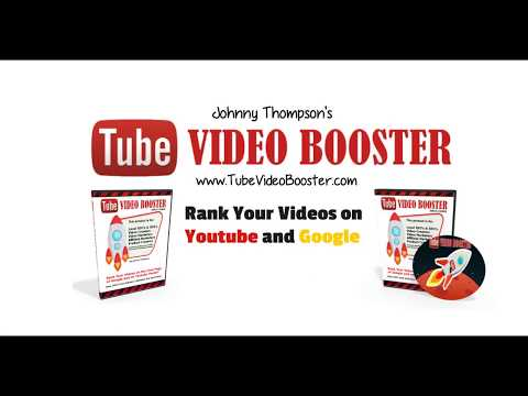 Tube Video Booster - Video Ranking Course