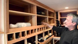 Residential Wine Cellar Design Garage Conversion Orange County