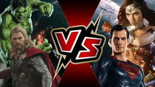 Video Thor and Hulk VS Superman and Wonder Woman | BATTLE ARENA download MP3, 3GP, MP4, WEBM, AVI, FLV September 2018