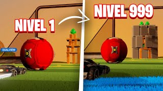 EL RETO IMPOSIBLE! NIVELES DE ANGRY BIRDS EN ROCKET LEAGUE 🚀
