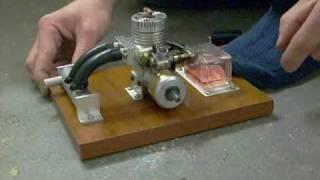Eigenbau 2-Takt-Verbrennungsmotor