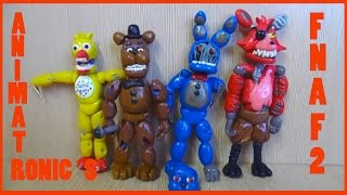Фнаф 2 из пластилина Сломанные аниматроники Withered Old Animatronics FNAF 2 Plastilin(Withered Freddy, Withered Bonnie, Withered Chica, Withered Foxy. Old Freddy, Old Bonnie, Old Chica, Old Foxy. Давайте дружить, я в ВК: ..., 2016-08-14T03:45:26.000Z)
