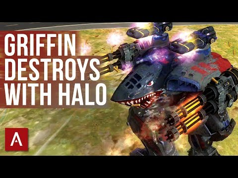 Old School Griffin with NEW Halo Weapons - Variety Builds | War Robots Griffin Gameplay