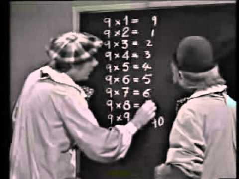 Los payasos de la tele (tablas de multiplicar)