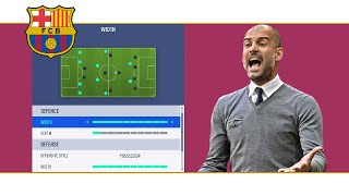 Fifa 19 how to replace the barcelona system uder josep guardiola 4-3-3 tiki taka tactics - formation instructions + gameplay instagram: https://www.instagr...