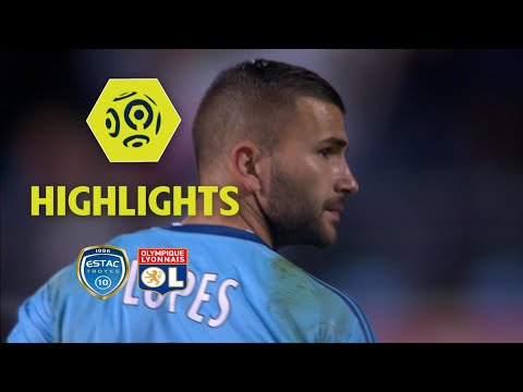 ESTAC Troyes - Olympique Lyonnais (0-5) - Highlights - (ESTAC - OL) / 2017-18