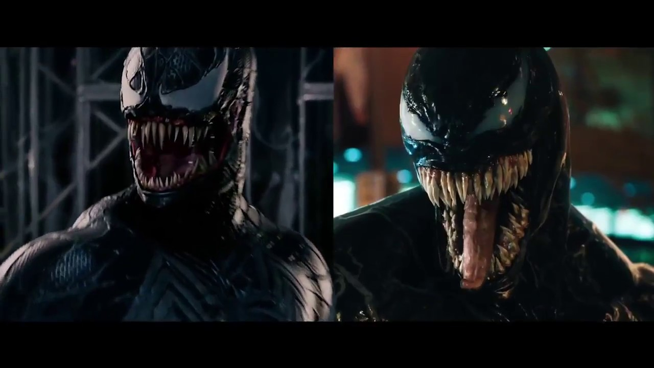 Venom 2018 vs 2007 Сomparison720p - YouTube