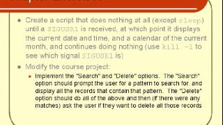 Unix Advance Shell Scripting Chapter Exercises