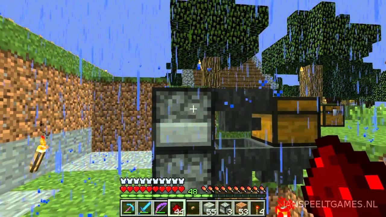 minecraft mee 186 het begin een spel