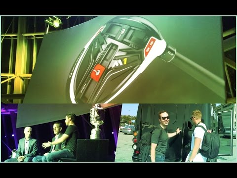 Travelling To America + Jason Day + SEEING THE NEW M1 TAYLORMADE DRIVER