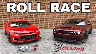 2018 Dodge Demon vs 2017 Camaro ZL1