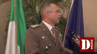 Change to Turin between gen. Massimo Panizzi and the col. Fulvio Marangoni