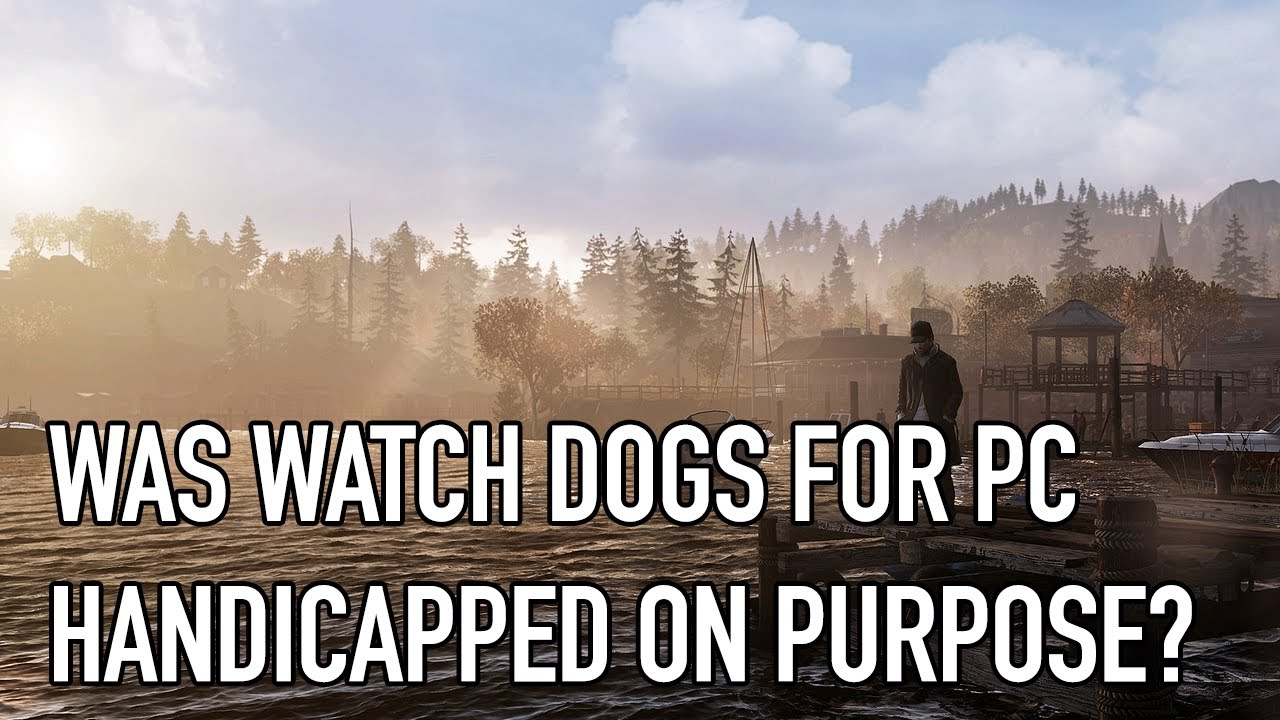 See Watch Dogs' Hidden Graphics Options In Action