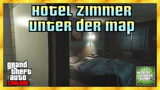 GTA 5 Online HOTEL ZIMMER UNTER DER MAP | Secret Location | Alle Konsolen & PC HD