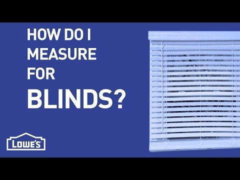 How Do I Measure For Blinds? | DIY Basics