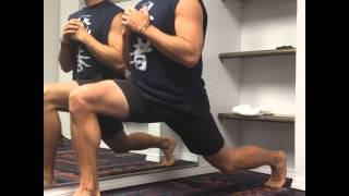 Hotel Training Altitude Drop Lunge, Dr. Tommy John Performance and Healing Center
