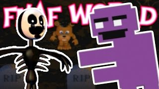 UNLOCKING PURPLE GUY, NIGHTMARIONNE!!! [Ep. 21] | FNaF World : UPDATE 2