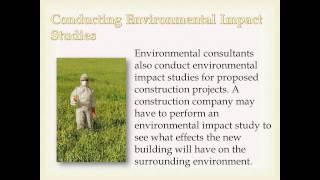 What Do Environmental Consultants Do